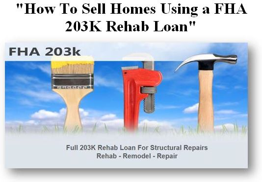 Learn How to Sell Homes that Need Rehab
